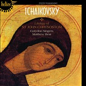 Tchaikovsky: Liturgy of St. John Chrystosom / Corydon Singers