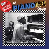 Various Artists: Arhoolie Presents American Masters, Vol. 8: 15 Piano Blues & Boogie Classics