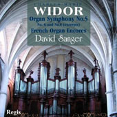 Charles-Marie Widor: Organ Symphony No. 5; French Organ Encores