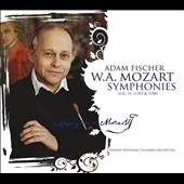 Mozart: Symphonies, Vol. 11 (1783 & 1788), nos 36 'Linz' & 39 / Adam Fischer, Danish Nat'l CO