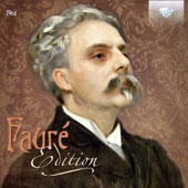 Fauré Edition - Orchestral works, concertos, chamber music, songs and choral works / Jean-Philippe Collard, Elly Ameling, Dalton Baldwin [19 CDs]