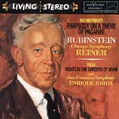 Rachmaninoff: Rhapsody;  Falla, Chopin / Rubinstein, Reiner