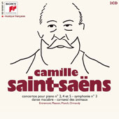 A Century Of French Music - Saint-Saëns: Piano Concertos Nos. 2, 4 & 5; Symphony No. 3; Carnival of the Animals / Various Artists