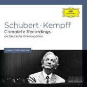 Wilhelm Kempff: Complete Schubert Recordings on Deutsche Grammophon / Wilhelm Kempff, piano [9 CDs]