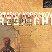 Rimsky-Korsakov: Scheherazade;  Respighi /Muti, Philadelphia