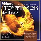 Baroque Trumpet Music Vol 1 / Kratzer, Nuber