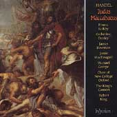 Handel: Judas Maccabaeus / Robert King, Jamie MacDougall