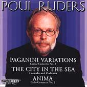 Ruders: Paganini Variations, Anima, etc/ J. Wagner, Starobin