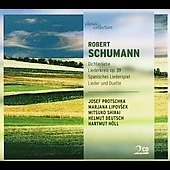 Schumann: Liederkreis, etc / Shirai, Protschka, H&#246;ll, et al