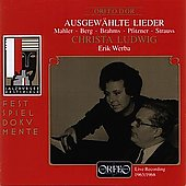 Ausgew&#228;hlte Lieder / Christa Ludwig, Erik Werba