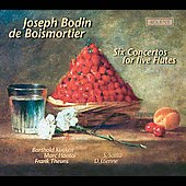 Boismortier: Six Concertos for Five Flutes