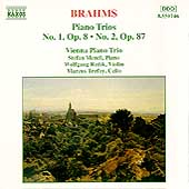 Brahms: Piano Trios nos 1 & 2 / Vienna Piano Trio