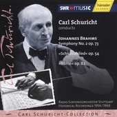 Carl Schuricht-Collection - Brahms: Symphony no 2, etc