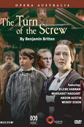 Britten: Turn Of The Screw / Opera Australia, Hannan, Haggart, Austin [DVD]