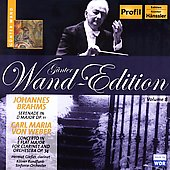 G&#252;nter Wand Edition - Brahms, Weber