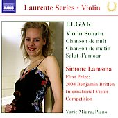 Laureate Series, Violin - Elgar / Simone Lamsma