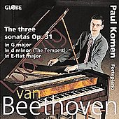 Beethoven: The Three Sonatas Op 31 / Paul Kamon