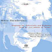 Theodorakis: Rhapsody for Cello, etc / Bosch, Moser, et al
