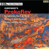 Prokofiev: Symphonies no 1 & 5, Romeo & Juliet Excerpts, Piano Concerto no 3
