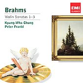 Encore - Brahms: Violin Sonatas 1-3 / Kyung-Wha Chung, Peter Frankl