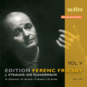 Edition Ferenc Fricsay Vol 5 - Strauss: Die Fledermaus / Fricsay, Wocke, Anders, et al