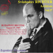 Legendary Treasures - Sviatoslav Richter Archives Vol 17
