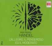 H&auml;ndel: L'Allegro, il Penseroso ed il Moderato / Reuter