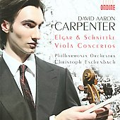 Elgar: Cello Concerto in E minor;  Schnittke: Viola Conccerto / Carpenter, Eschenbach