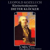 Leopold Kozeluch: Klarinettenkonzerte