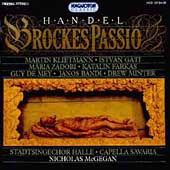 Handel: Brockes Passion / McGegan, Capella Savaria