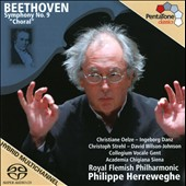 Beethoven: Symphony No. 9 / Christiane Oelze, Ingeborg Danz, Christoph Strehl; David Wilson-Johnson - Philippe Herreweghe