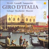 Giro d'Italia / Baroque Cello Concertos / Musica Alta Ripa