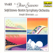 Vivaldi: The Four Seasons / Silverstein, Ozawa, Boston SO