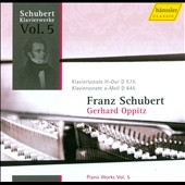 Schubert: Piano Works, Vol. 5 / Oppitz