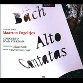 Bach: Alto Cantatas / Maarten Engeltjes, countertenor, Vincent van Laar, organ