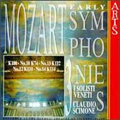 Mozart: Early Symphonies Vol 3 / Scimone, I Solisti Veneti