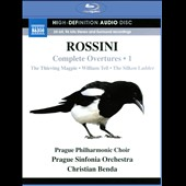 Rossini: Complete Overtures, Vol. 1 / Christian Benda, Prague Sinfonia Orchestra [Blu-ray Audio]