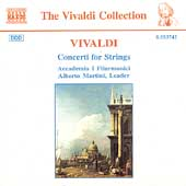 Vivaldi: Concerti for Strings / Alberto Martini