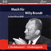 Rosenfeld: Music For Willy Brandt, etc / Termer, Schmahl