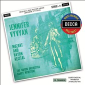 Mozart and Haydn Recital / Jennifer Vyvyan, soprano