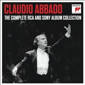 Claudio Abbado: The Complete RCA and Sony Album Collection [39 CDs]