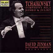Tchaikovsky: Symphony no 4, etc / Zinman, Baltimore SO