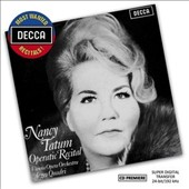 Nancy Tatum: Operatic Recital / Nancy Tatum, soprano; Argeo Quadri