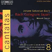 Bach: Cantatas Vol 8 / Suzuki, Bach Collegium Japan