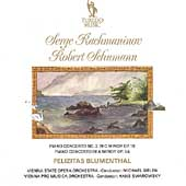 Rachmaninov, Schumann: Piano Concertos / Felicja Blumental