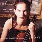 Beethoven: Violin Concerto;  Bernstein / Hahn, Zinman