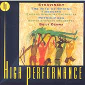 Stravinsky: Rite of Spring, Fireworks, etc / Ozawa, et al