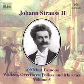 J. Strauss Jr.: 100 Most Famous Waltzes Vol 5