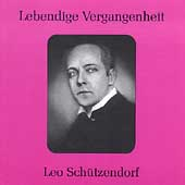 Lebendige Vergangenheit - Leo Sch&uuml;tzendorf