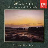 Wagner: Overtures & Preludes / Adrian Boult